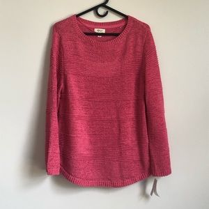 Style & Co Women's Mixed Stitch Sweater NWT